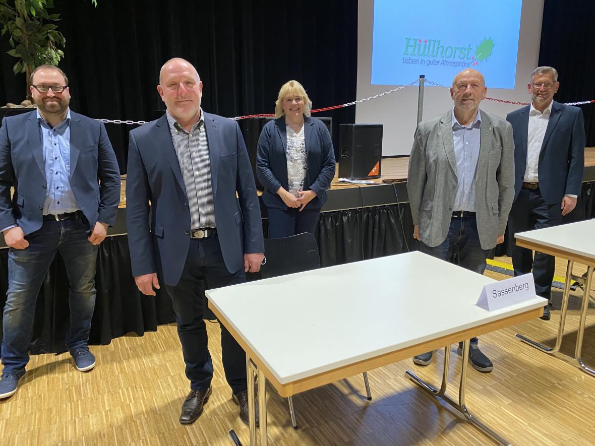 Dirk Raddy ist neuer Fraktionsvorsitzender der CDU Hüllhorst