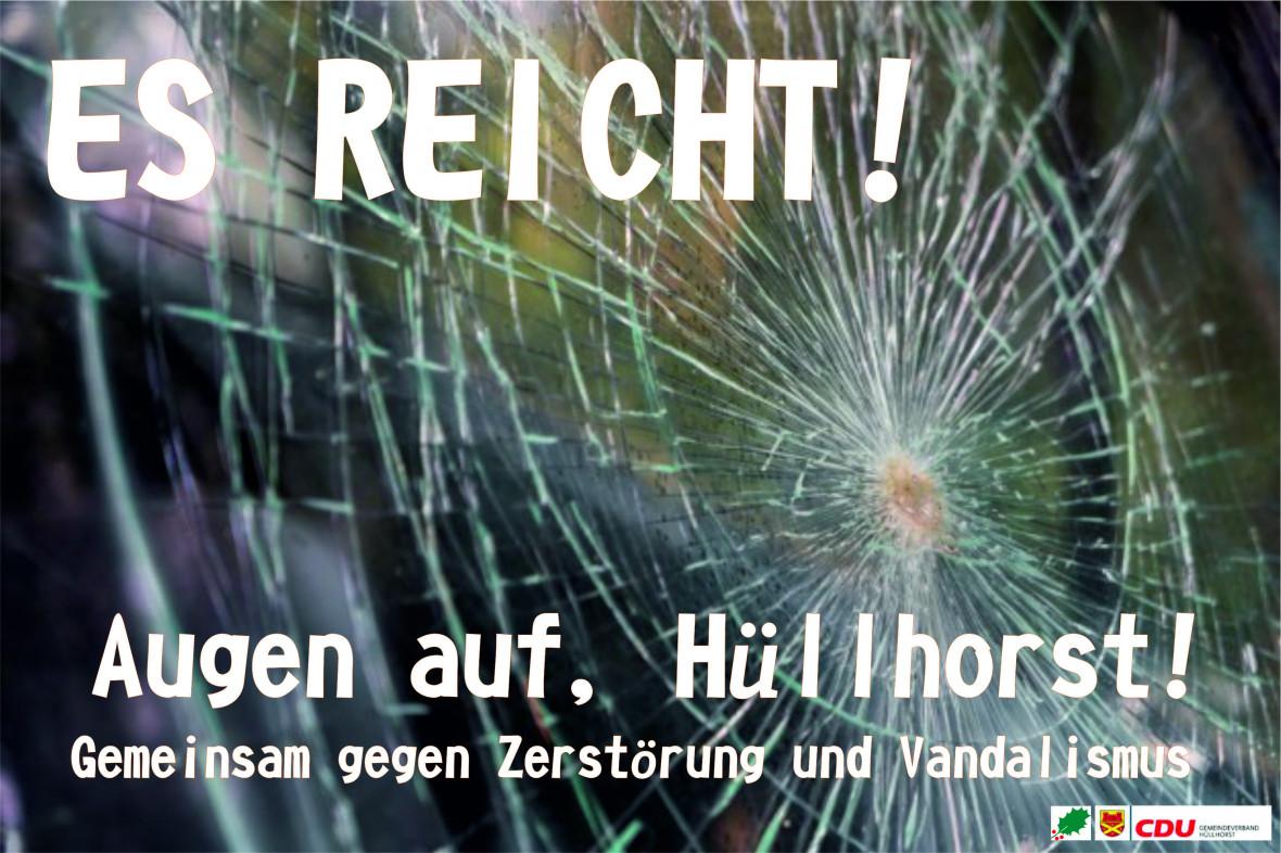 Die CDU Hüllhorst schreibt offenen Brief an die Bürgerinnen und Bürger